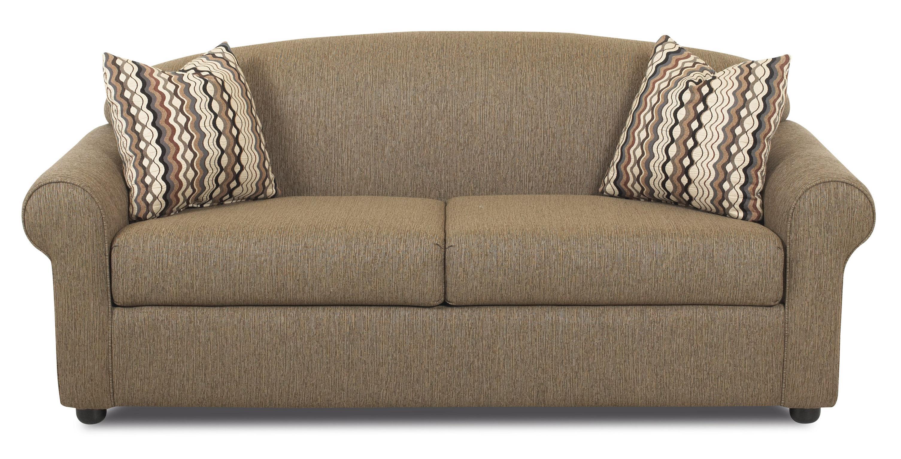 Klaussner Possibilities Innerspring Regular Sleeper Sofa Vandrie Home Furnishings