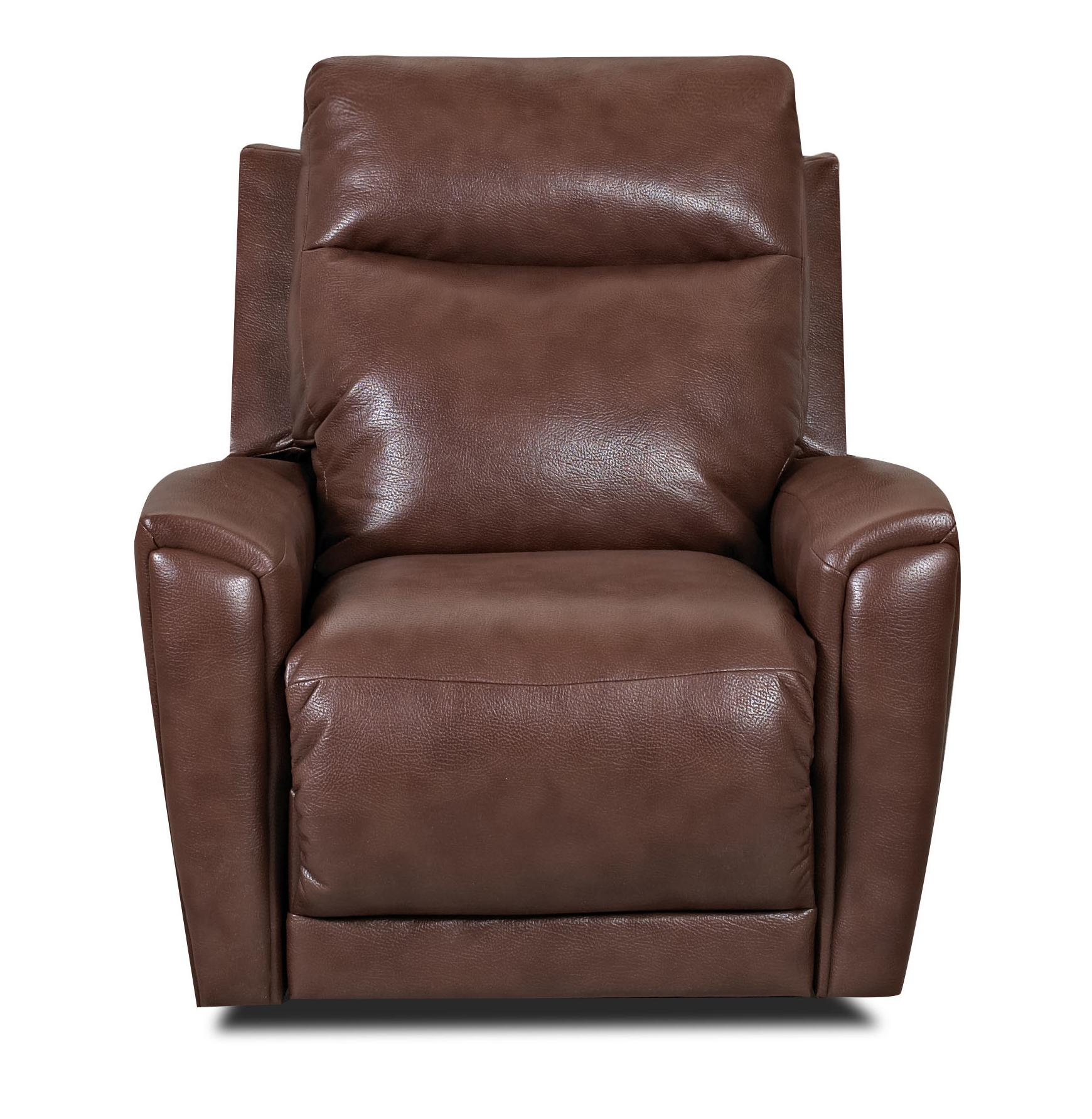 Transitional Swivel Gliding Reclining Chair