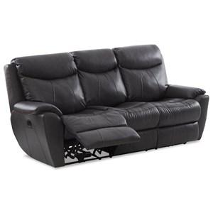 Power Reclining Sofa w/ Pwr Headrests/Lumbar