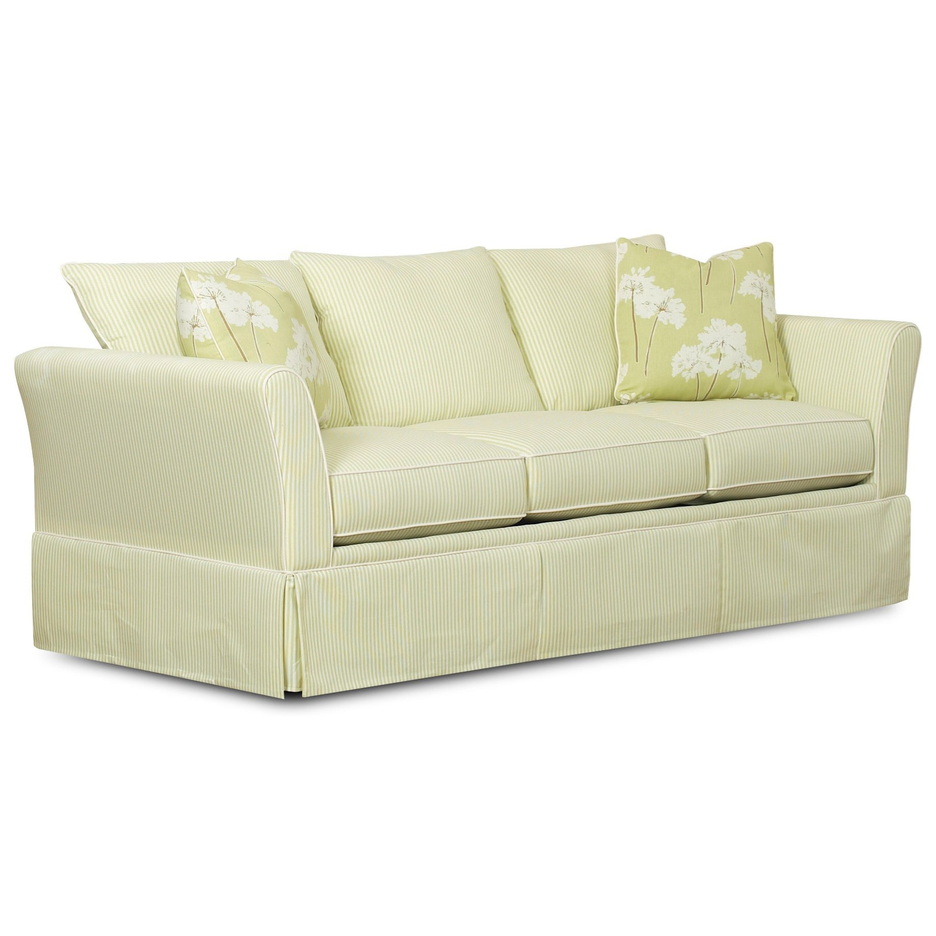 Klaussner Ramona K81600 Aqsl Queen Air Dream Sleeper Sofa