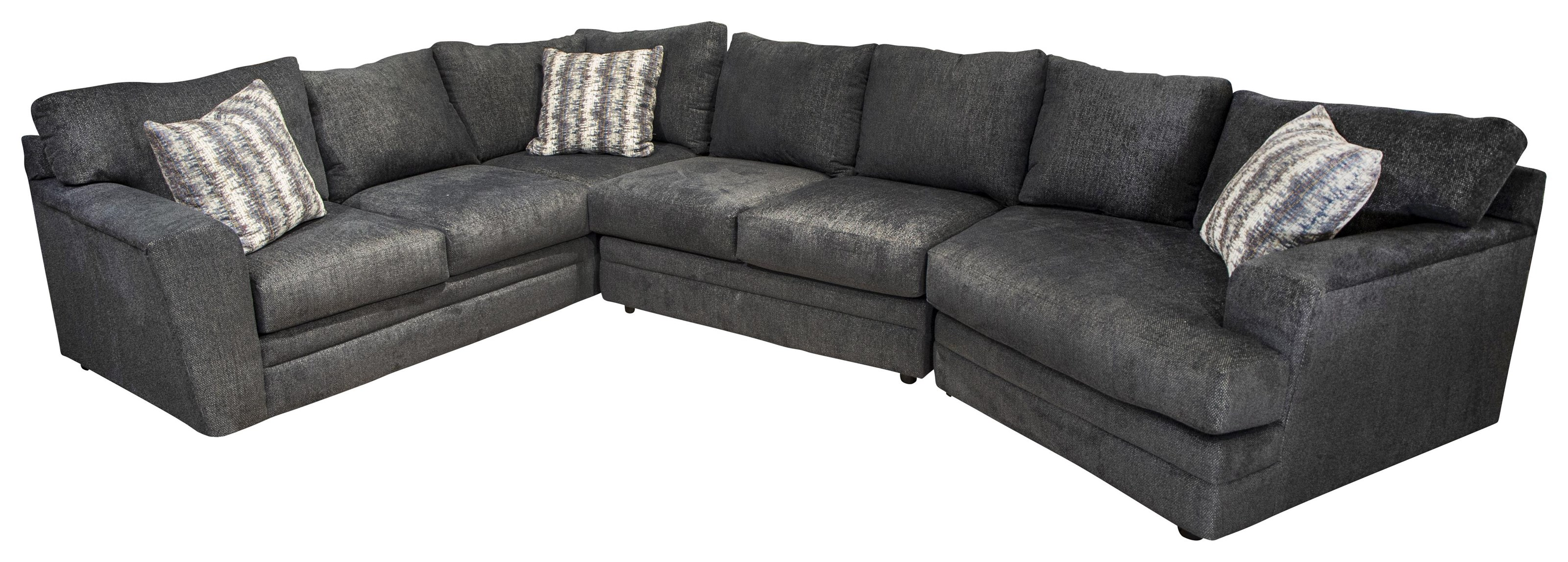 Rayner Rayner Sectional Sofa by Klaussner at Morris Home