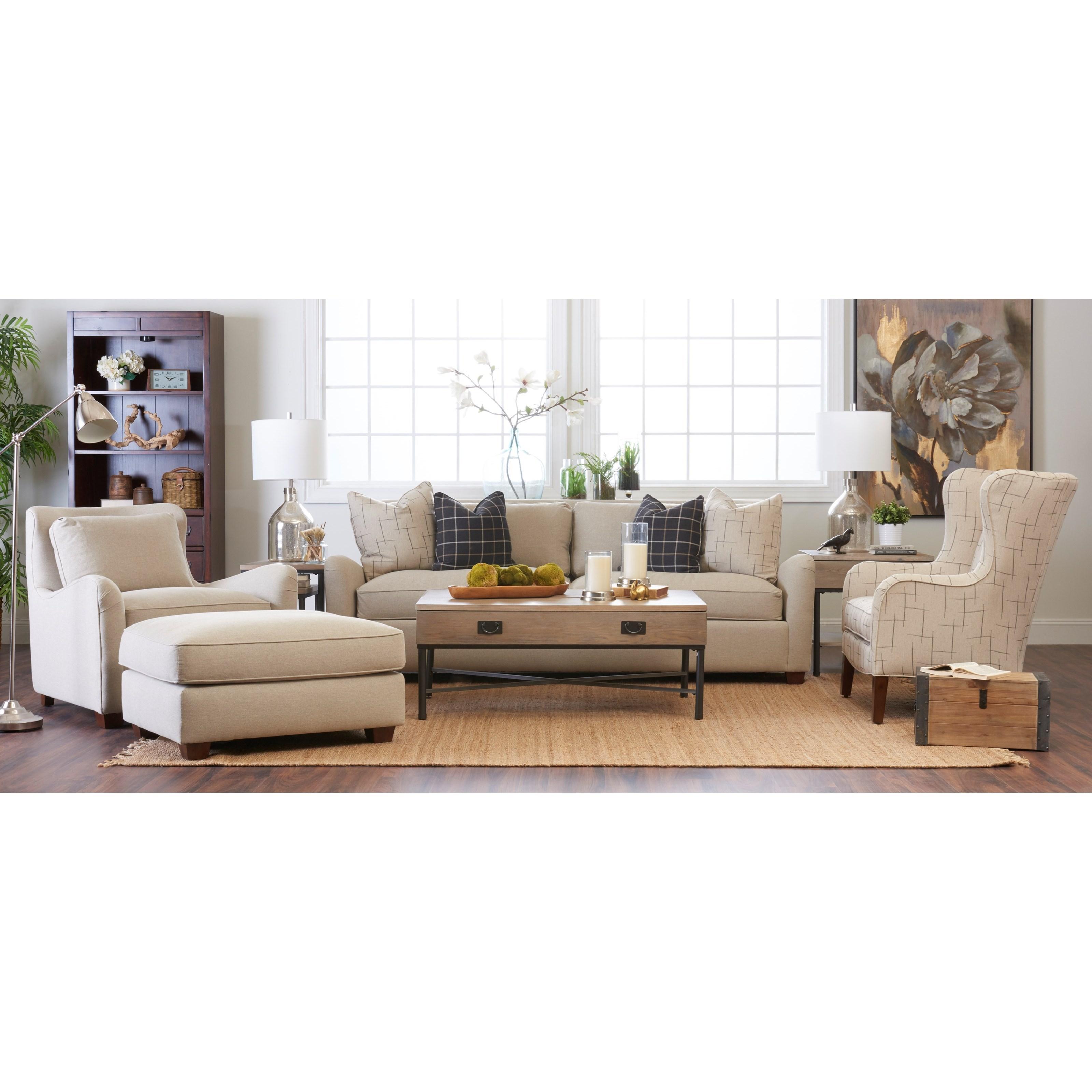 Klaussner reflection living room group hudson 39 s for Klaus k living room brunssi