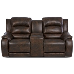Elliston Place Reuben Reclining Console Loveseat