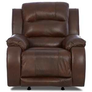 Klaussner Reuben Power Recliner with Power Headrest
