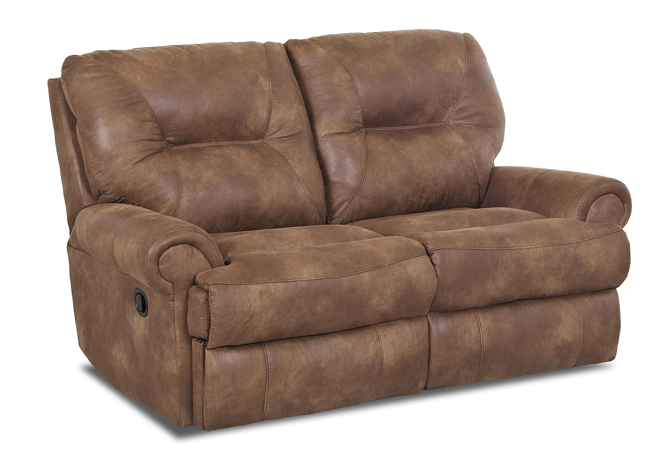 Roadster traditional power reclining loveseat by klaussner wolf furniture Power loveseat recliner