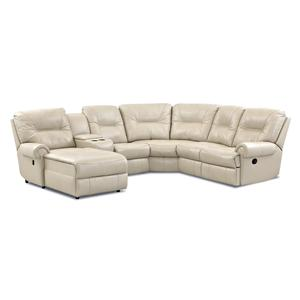 Elliston Place Roadster Traditional Reclining Sectional Sofa