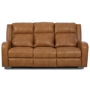 Klaussner Robinson Power Reclining Sofa w/ Pwr Head & Lumbar
