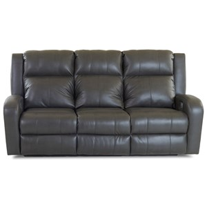 Klaussner Robinson Power Reclining Sofa w/ Pwr Headrests