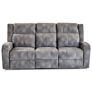 Klaussner Robinson Power Reclining Sofa w/ Pwr Head & Lumbar