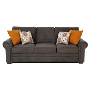 Sofa w/ Rolled Arms