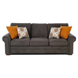 Simple Elegance Suri Sofa w/ Rolled Arms