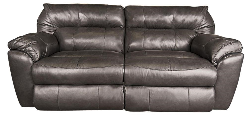 Ronna Ronna Leather Match Power Sofa by Klaussner at Morris Home