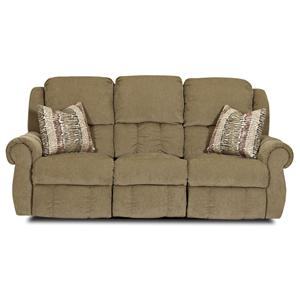 Elliston Place Rowling Casual Reclining Sofa with Pillows