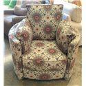 Klaussner Ryder Transitional Reclining Swivel Chair - Item Number: 50508M-RSWVL SURI QUARTZ