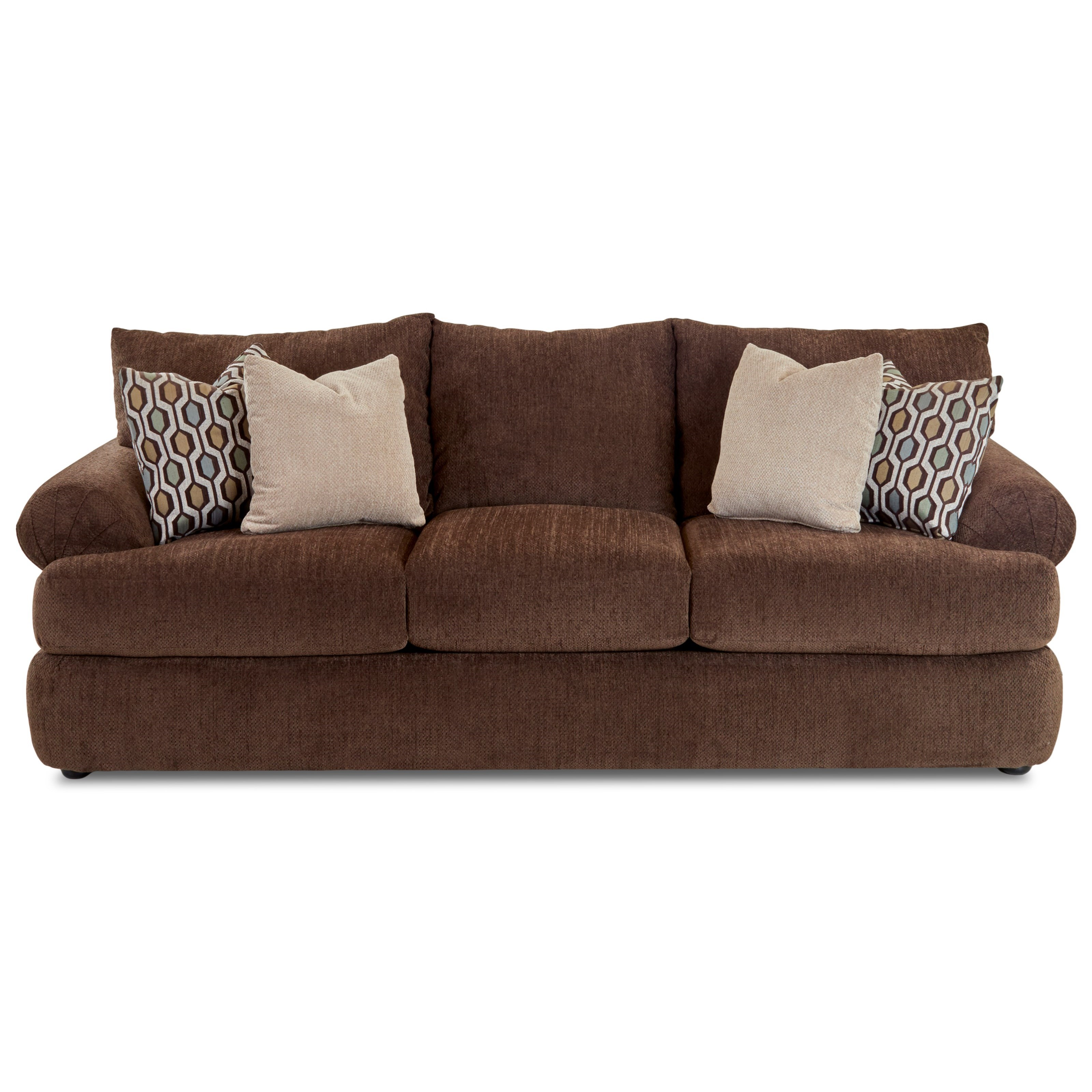 Klaussner Samantha Upholstered Stationary Sofa   Item Number: 36840S