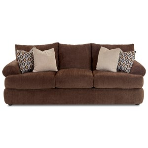 Klaussner Samantha Upholstered Stationary Sofa