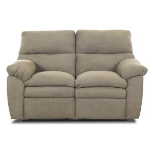 Elliston Place Sanders Upholstered Reclining Love Seat