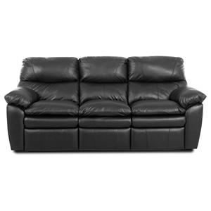 Elliston Place Sanders  Upholstered Reclining Sofa