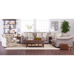 Klaussner Sandy Ridge Living Room Group
