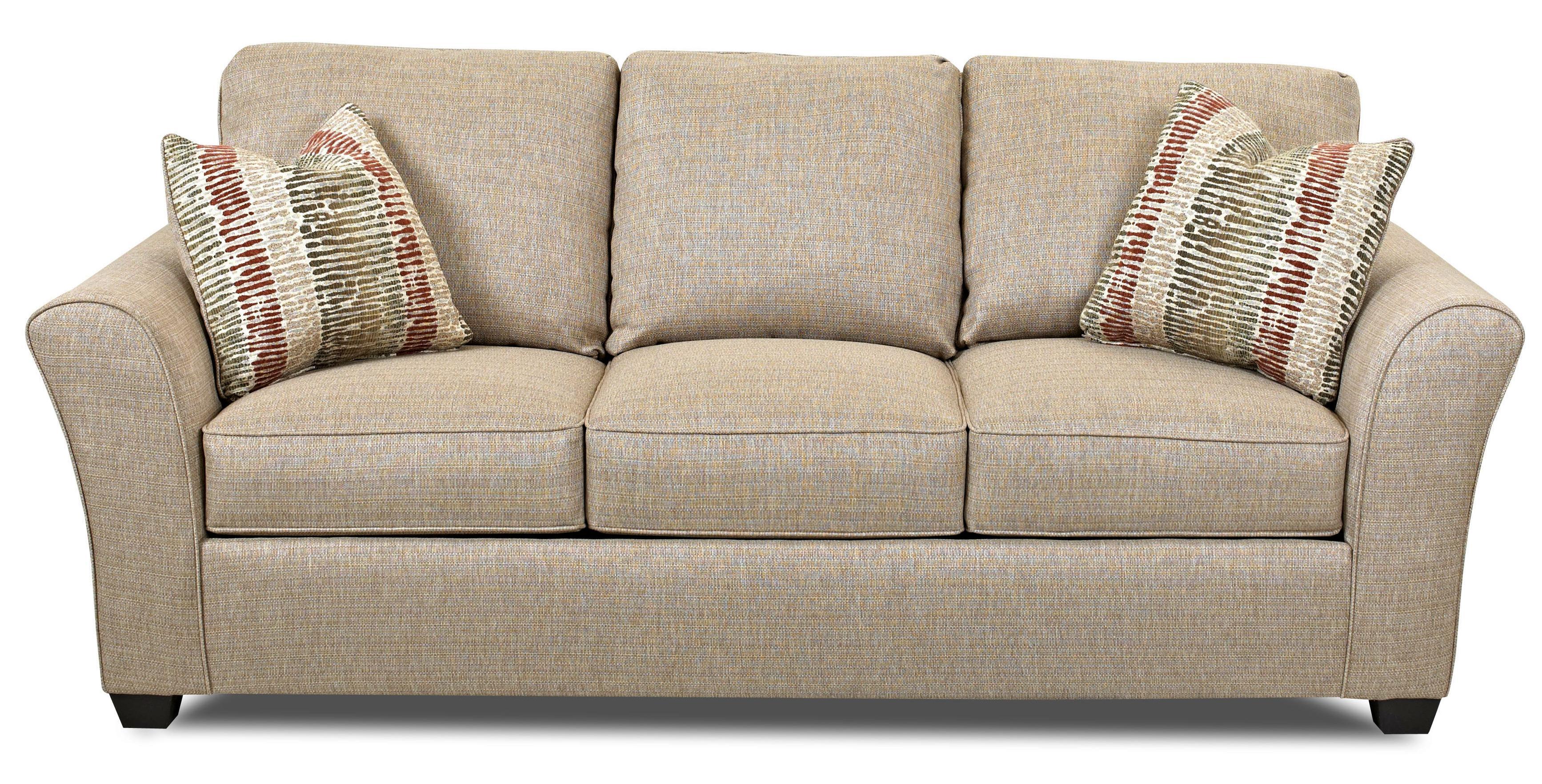 Klaussner Sedgewick Transitional Sofa - Item Number: K22200 S