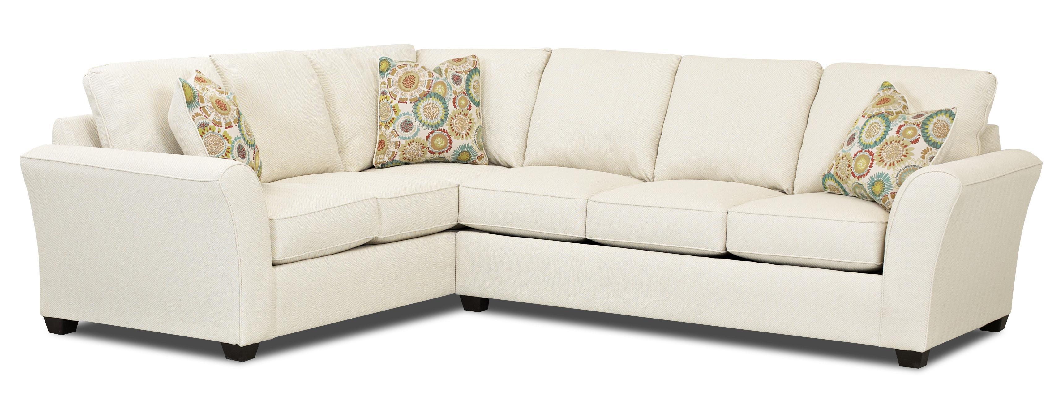 Klaussner Sedgewick Transitional Sectional Sleeper Sofa With Dreamquest Mattress Ahfa Dealer Locator