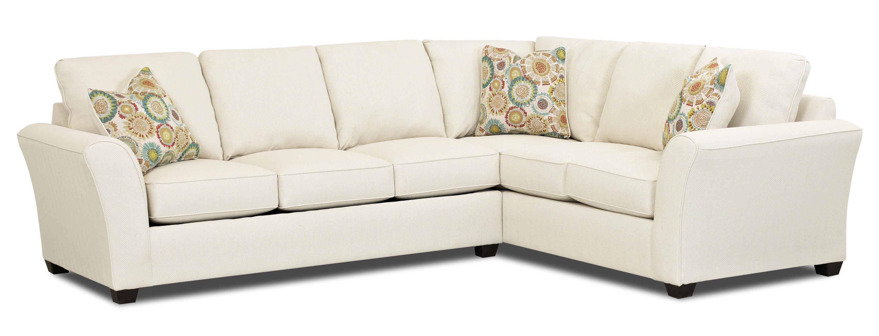 Sedgewick Transitional Sectional Sleeper Sofa With