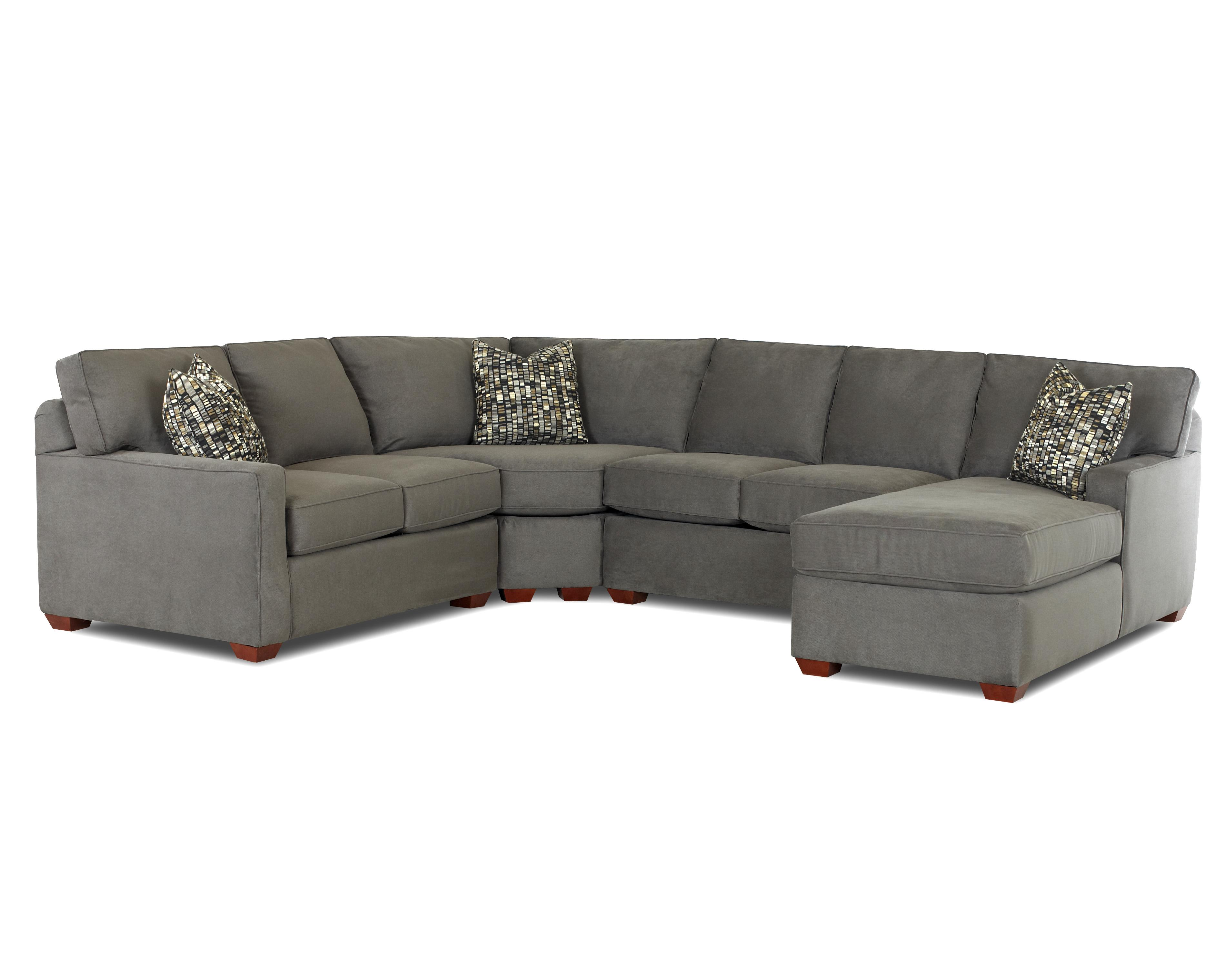 Klaussner Selection Sectional   Item Number: K50000RCHASE+LLS+ALS+WEDGE