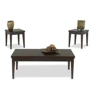 Klaussner International Simplicity  3 Table Pack, 2 End, 1 Cocktail