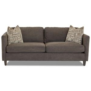 Studio Sofa w/ Pillows
