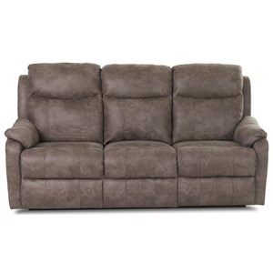 Klaussner Solitaire Power Reclining Sofa w/ Pwr Head & Lumbar