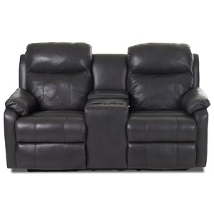 Power Reclining LS w/ Console & Pwr Head/Lum