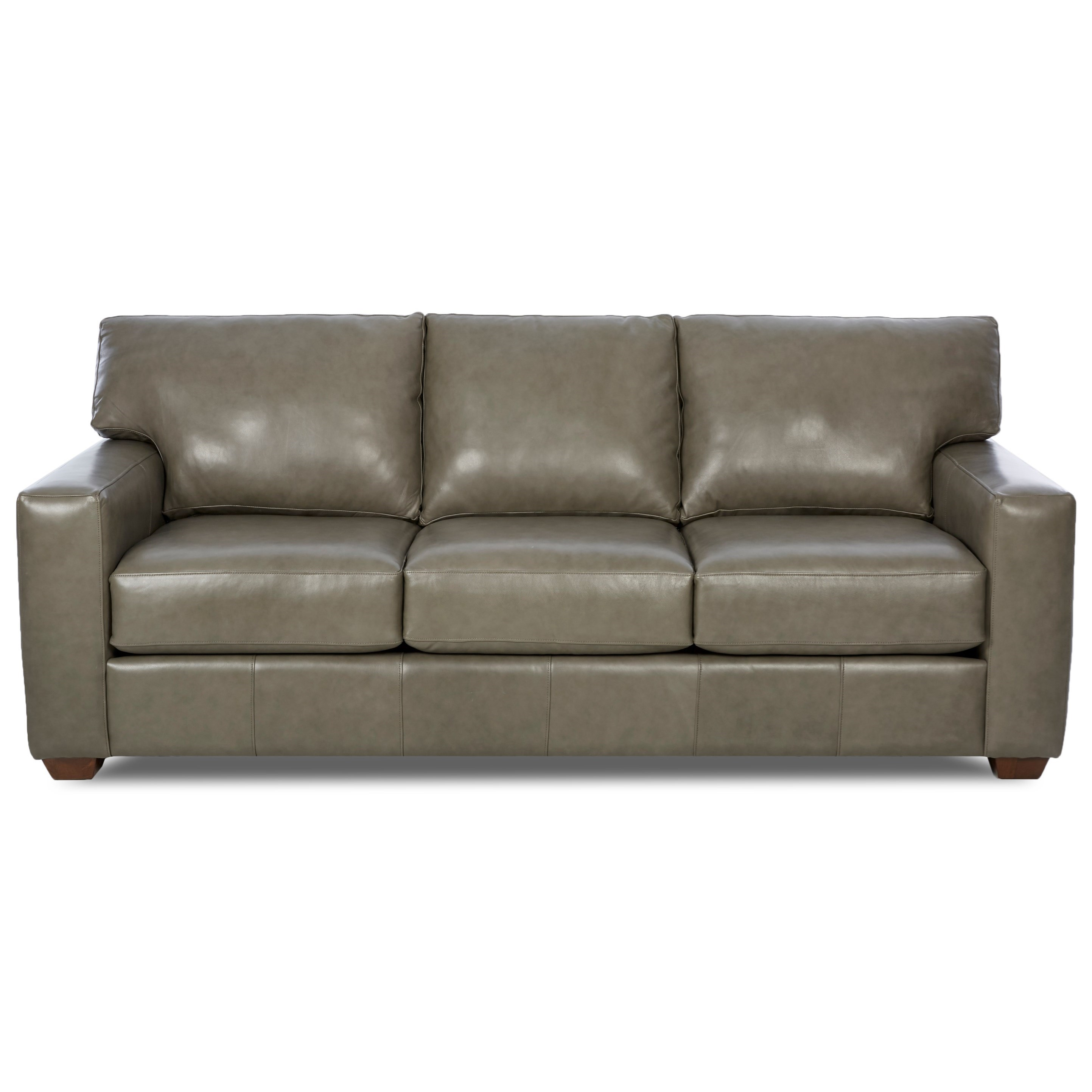 Klaussner Leather Sofa Review: Klaussner Southport Contemporary Leather Sofa