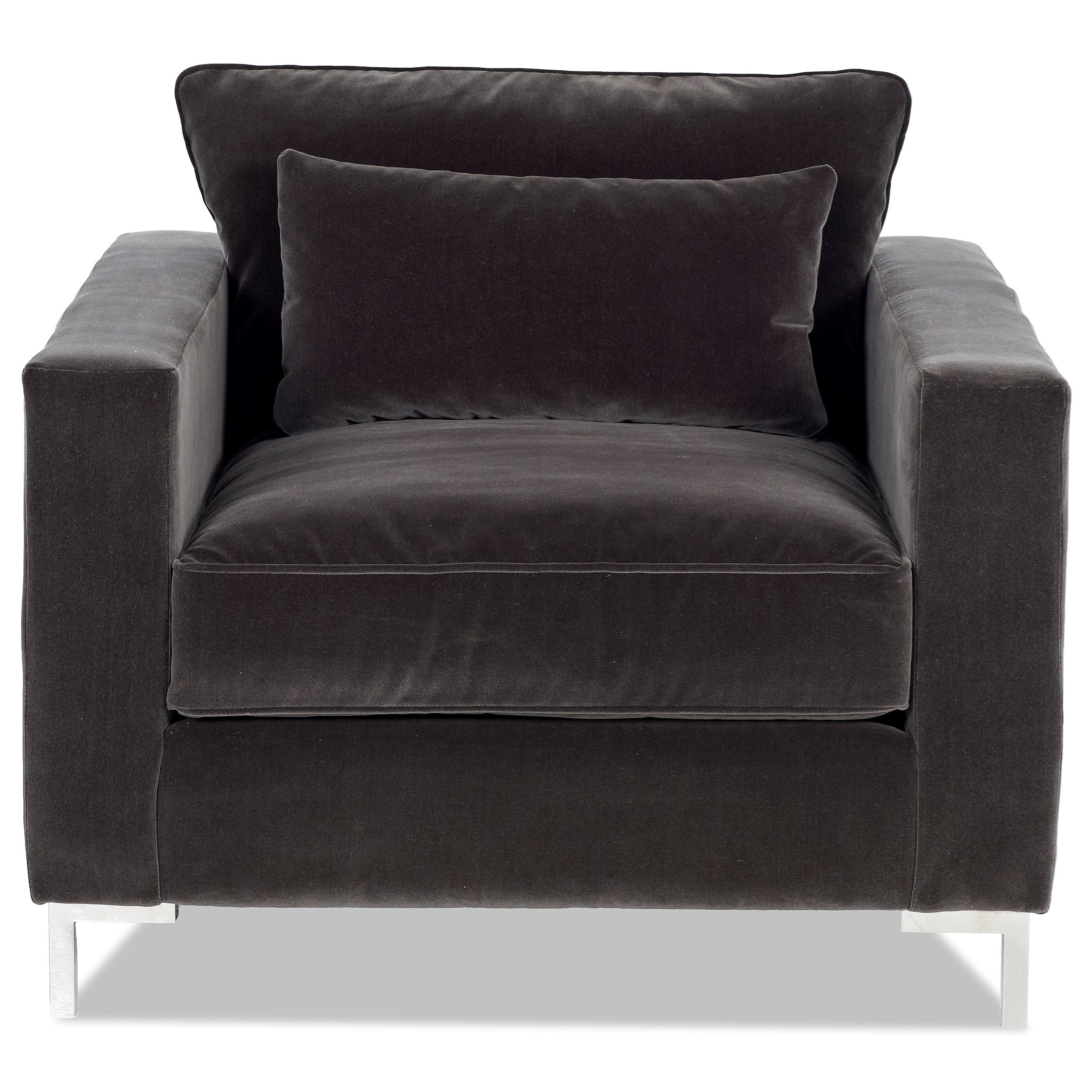 Klaussner Spencer Chair   Item Number: LD1100 C LOMBARDY GREY