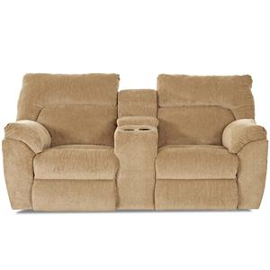 Elliston Place St Andrew Casual Power Reclining Console Loveseat