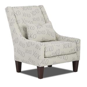 Elliston Place St Cloud Occastional Chair w/ Kidney Pillow