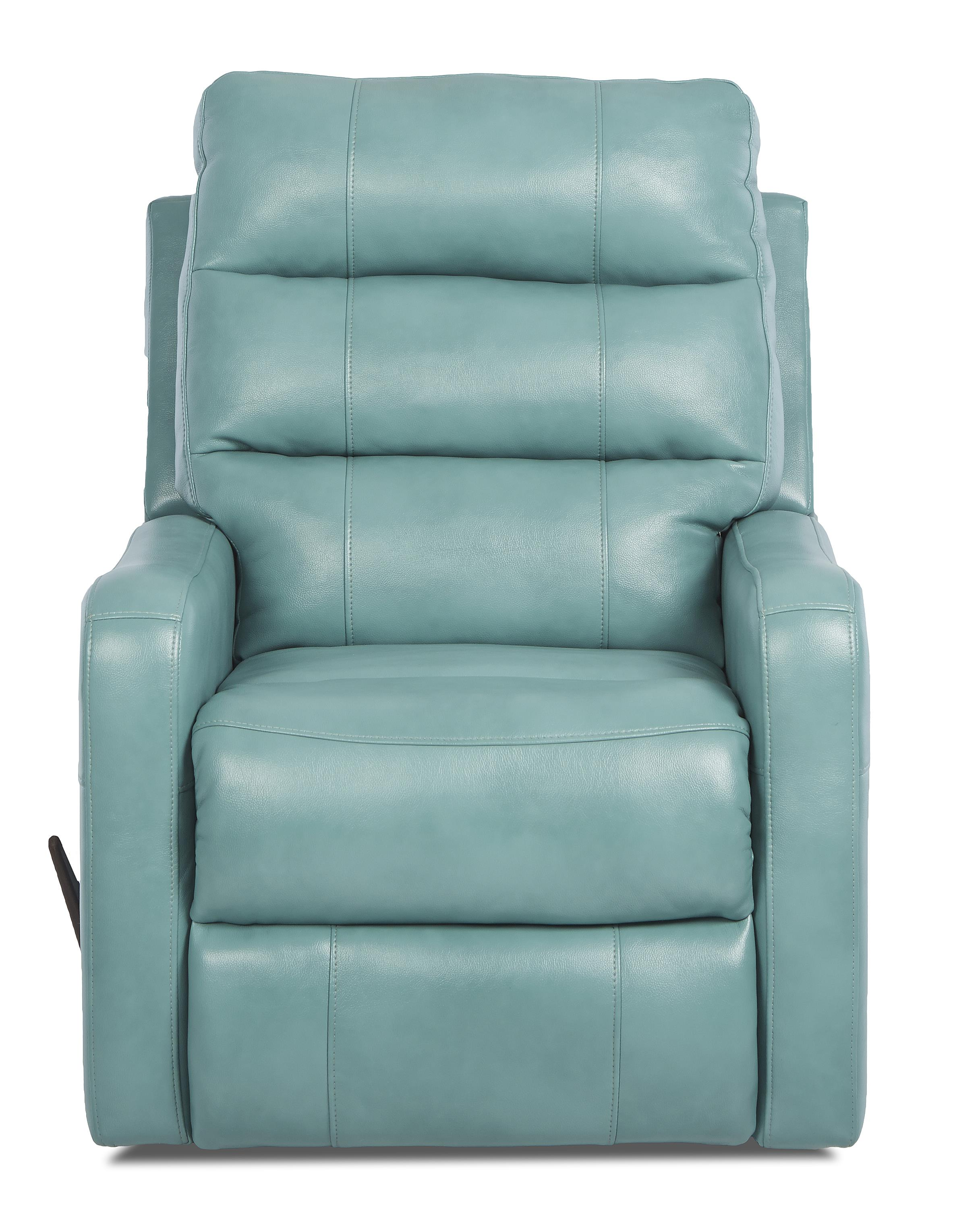 Striker Contemporary Swivel Rocking Reclining Chair By