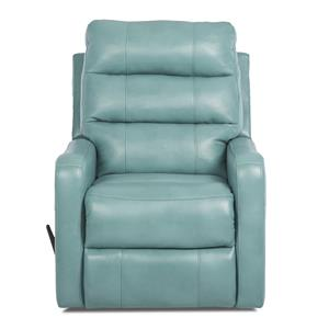 Klaussner Striker Contemporary Power Rocking Reclining Chair