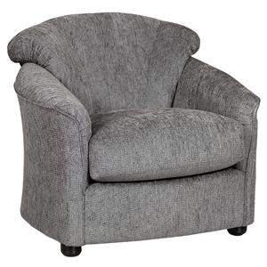 Klaussner Swivel Upholstered Chair