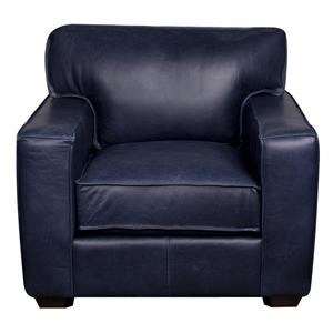 Elliston Place Telford Telford 100% Leather Chair