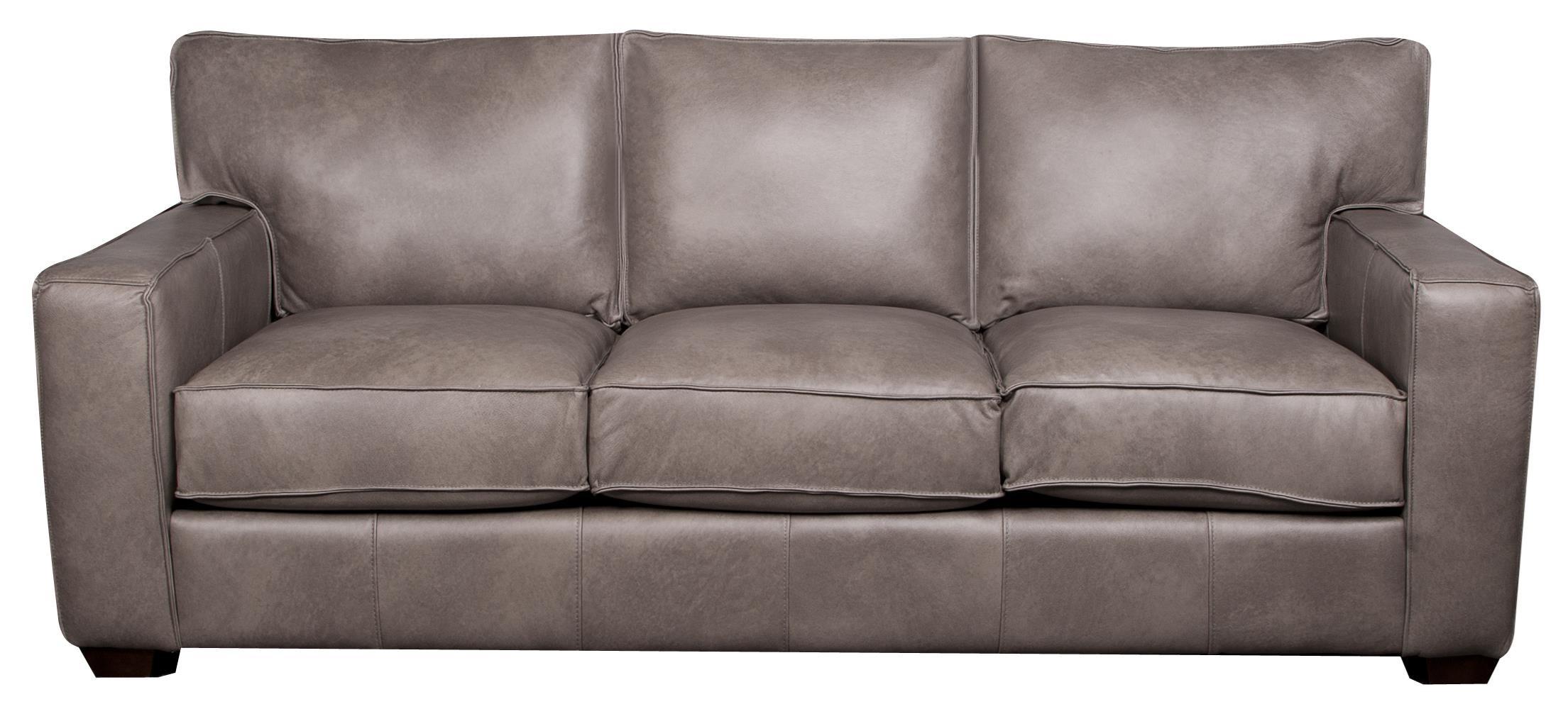 Elliston Place Telford Telford 100% Leather Sofa - Item Number: 795266593