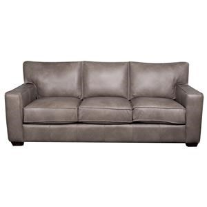 Elliston Place Telford Telford 100% Leather Sofa