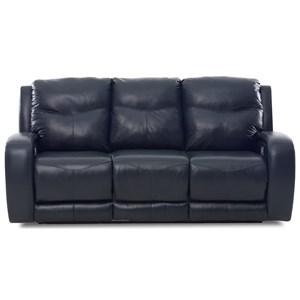 Power Recl. Sofa w/ Power Headrests & Lumbar