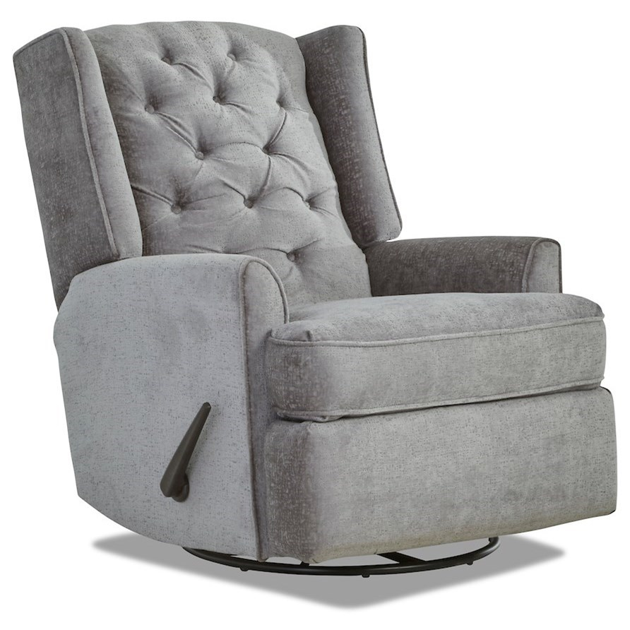Surprising Theo Traditional Tufted Swivel Rocker Recliner With Wing Creativecarmelina Interior Chair Design Creativecarmelinacom