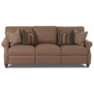 Traditional Power Reclining Sofa