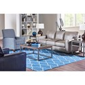 Elliston Place Tillery Contemporary Sofa with Track Arms