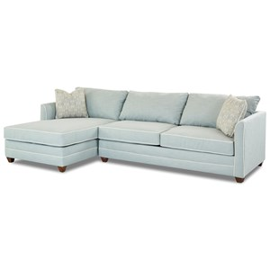 Elliston Place Tilly 2 Pc Sectional Sofa w/  RAF Enso Sleeper