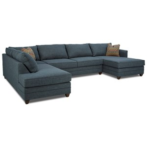 Elliston Place Tilly 3 Pc Sectional Sofa w/ RAF Chaise
