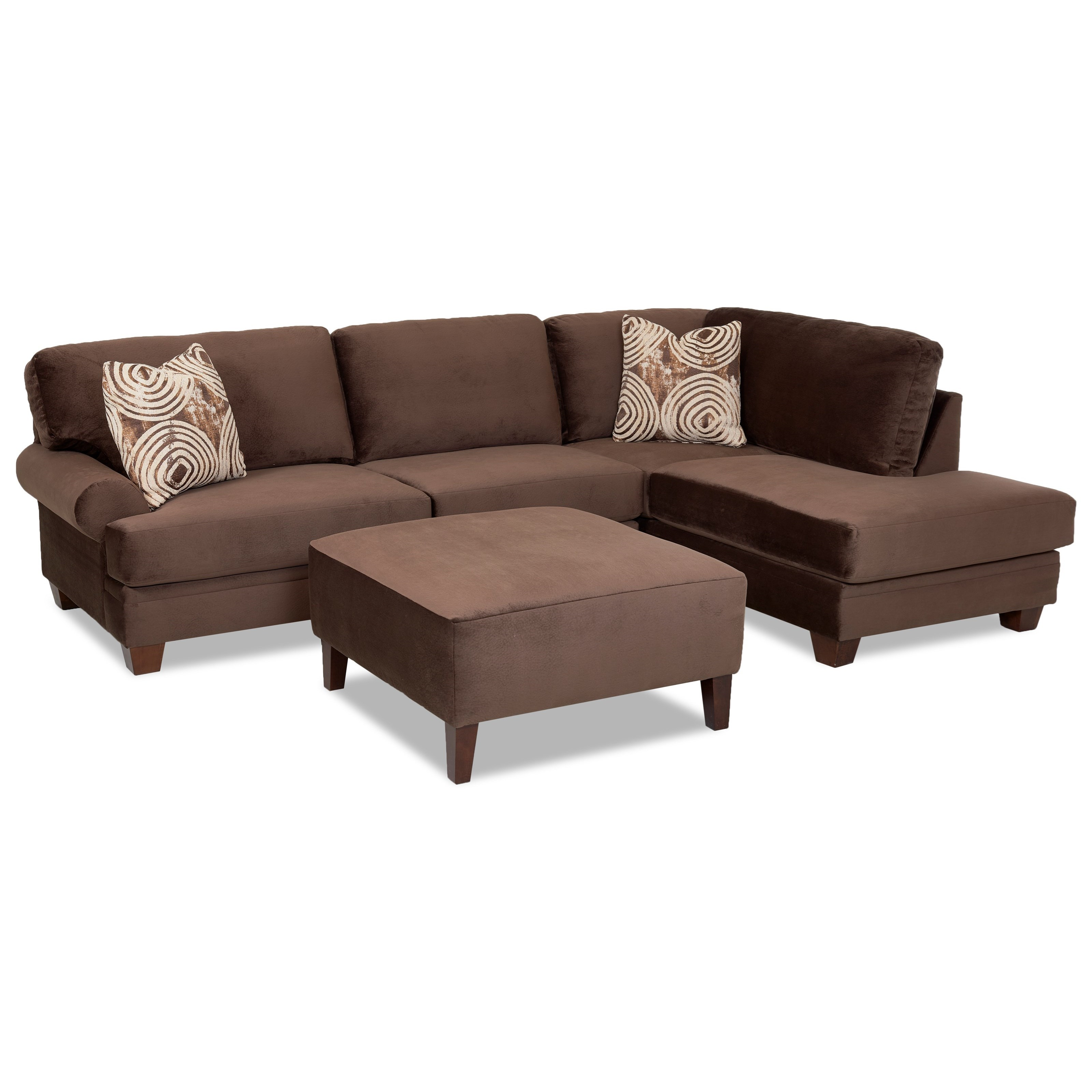 Klaussner Tinley Living Room Group Wayside Furniture Upholstery Group