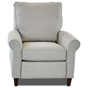 Klaussner Township Power High Leg Recliner