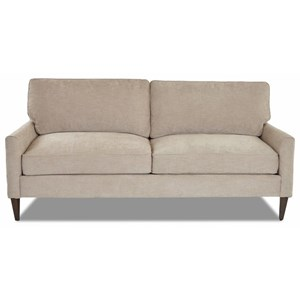 Klaussner Tribecca Contemporary Loveseat